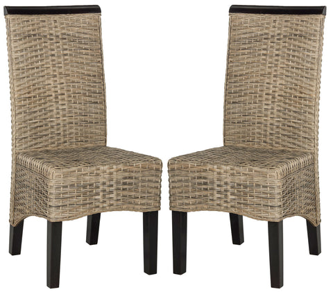 ILYA 18''H WICKER DINING CHAIR
