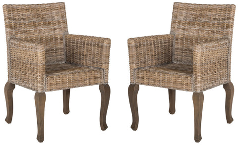 ARMANDO 18''H WICKER DINING CHAIR