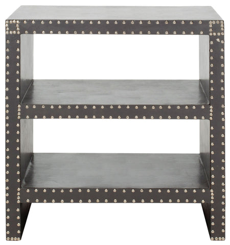 LACEY TWO TIER SIDE TABLE GREY