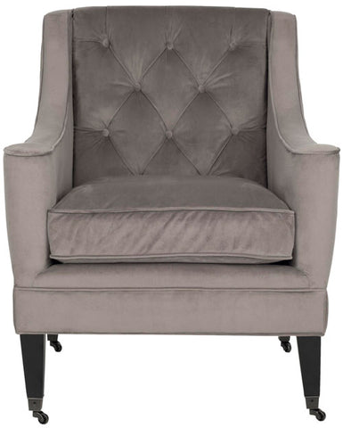 SHERMAN TUFTED ARM CHAIR