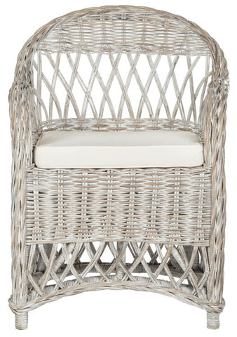 INEZ WICKER CLUB CHAIR