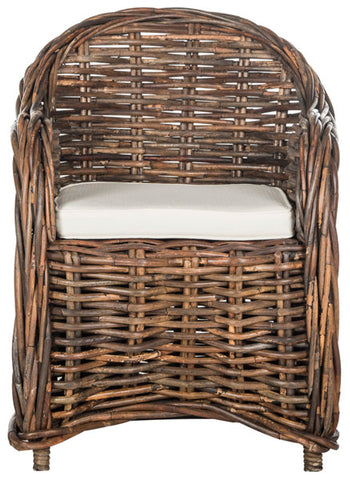 NITA WICKER CLUB CHAIR