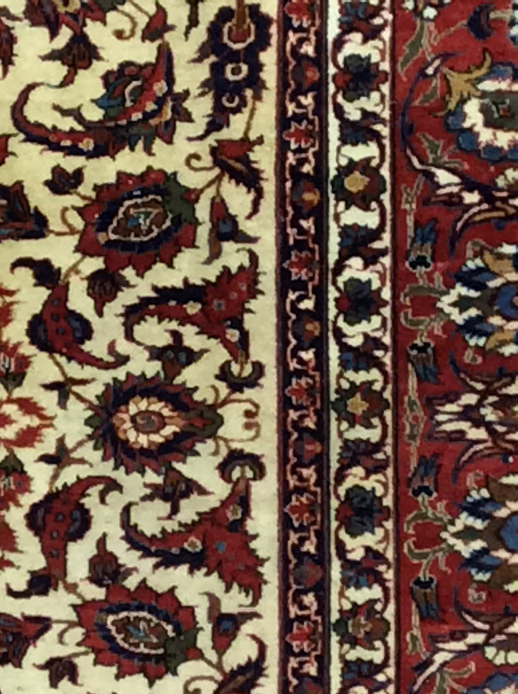 Antique Isfahan Carpet