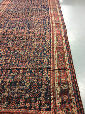 Antique Qashquei Long Rug