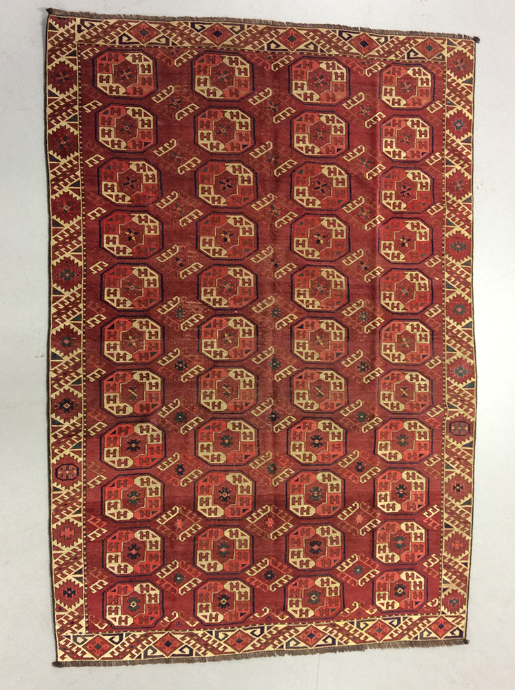 Antique Torkoman Carpet