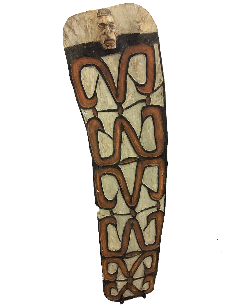New Guinea Asmat Shield