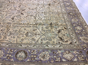 Semi Antique Tabriz Carpet