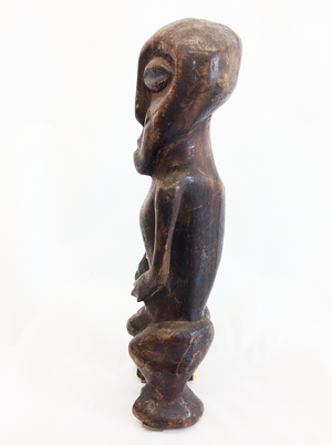 Wooden Figure of a Standing Man