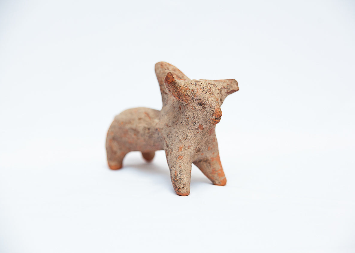 Amlash Ox Clay Figurine