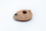 Embellished Roman Oil Lamp #2