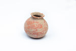 Small Persian Round Clay Vase