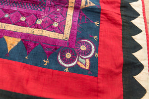 Phulkhari Table Cloth