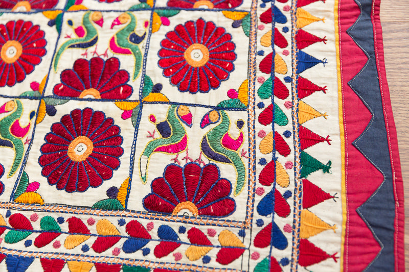 Phulkhari Textile – Pillow Cover