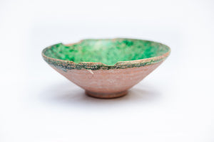 Saljuq Green-Glazed Bowl