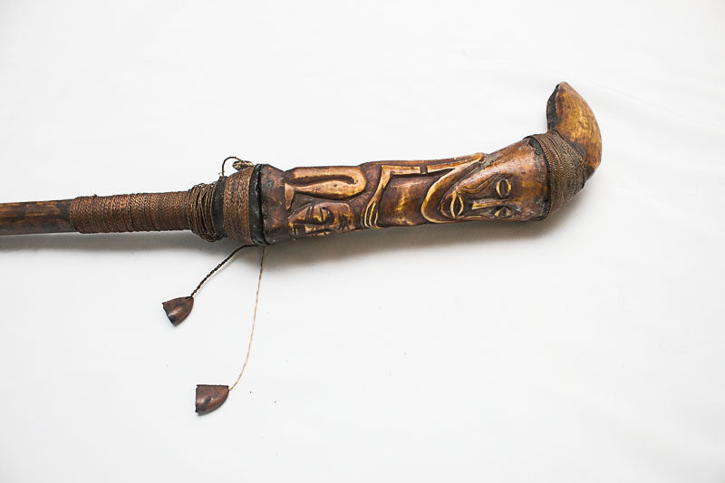 Tribal Cane – Elephant Bone
