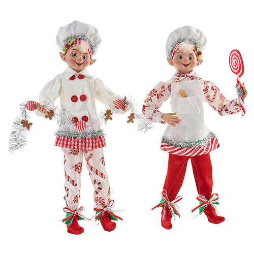 RAZ - Kringle Candy Posable Elf 40cm