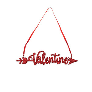 Valentines Arrow Ornament - LC7027