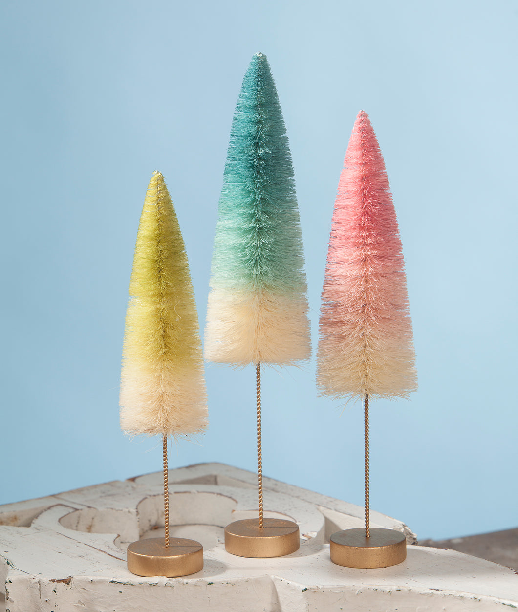 LC8319 - Spring Ombre Trees Set of 3