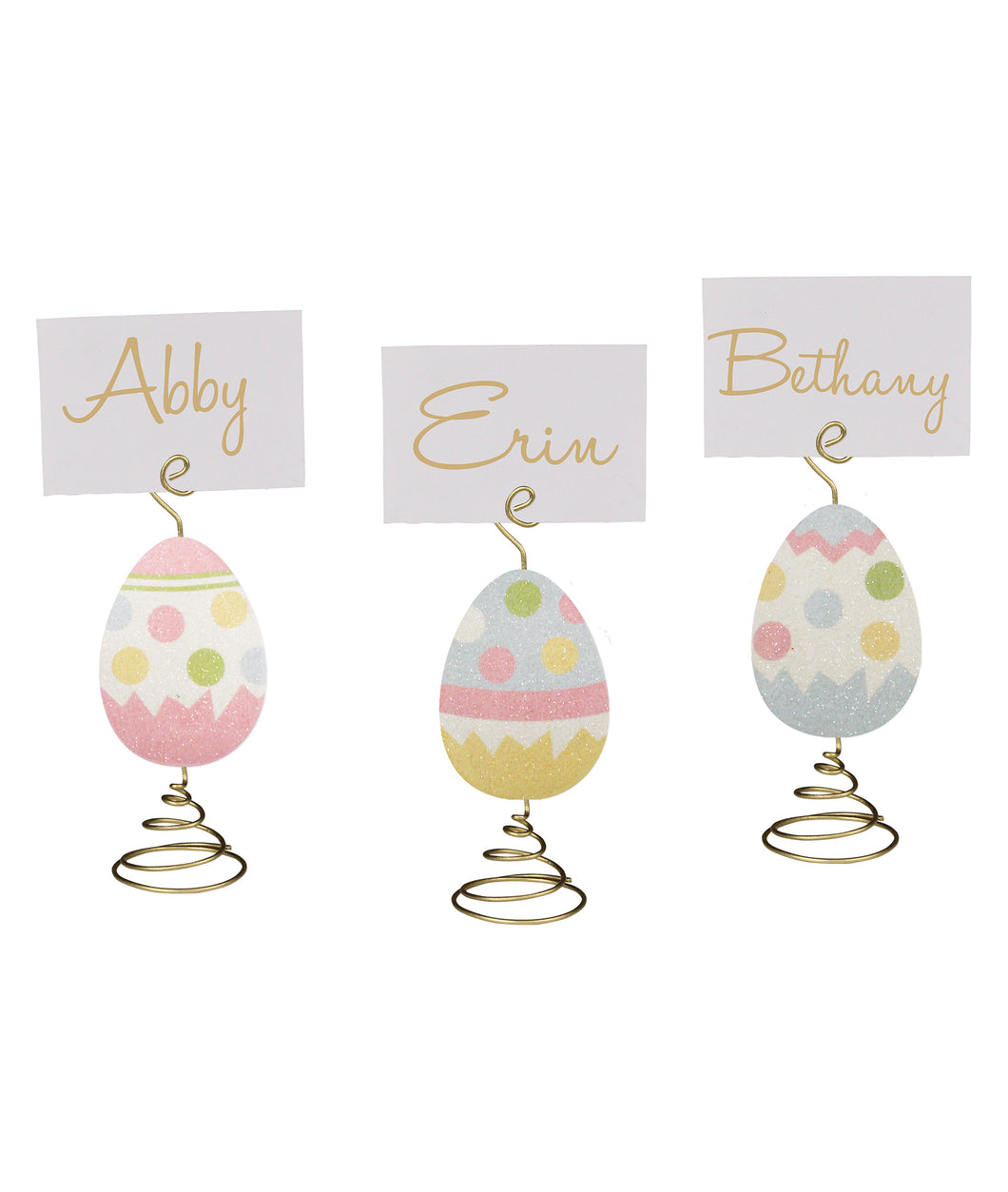 TF8605 - Easter Egg Place Card Holder