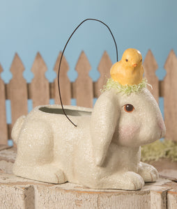 TJ9490 - Bunny with Little Chick Bucket