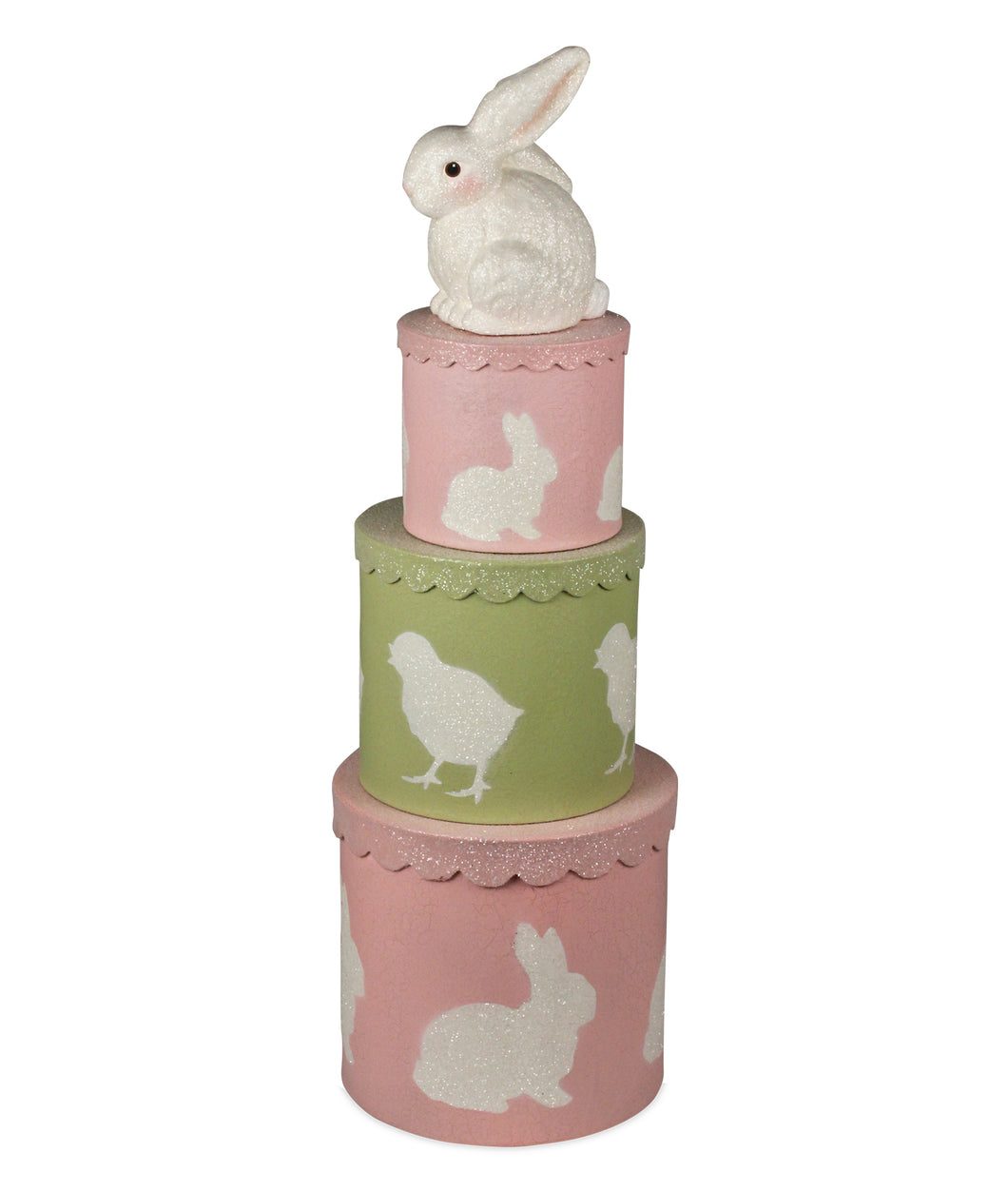 TL7792 - Spring Bunny Nesting Boxes Set of 3