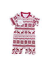 Load image into Gallery viewer, Fair Isle PJ's - Baby Romper