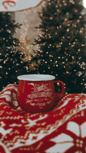 PRE ORDER - It's The Most Wonderful Time of the Year Enamel Mug