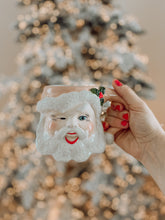 Load image into Gallery viewer, PRE ORDER - Pink Vintage Santa Mug