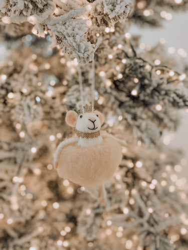 Merry Mice - Ballerina Mouse Ornament