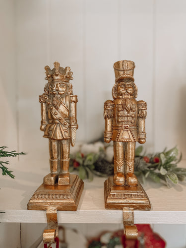Raz - Nutcracker Stocking Holder Set