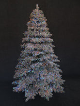 Load image into Gallery viewer, PRE ORDER - Pre Lit Frosted 7foot Tree