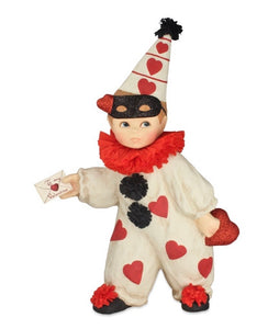 PRE ORDER - Valentine Clown Boy Small - TD8493