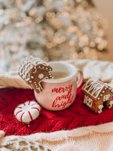 Load image into Gallery viewer, Merry & Bright Enamel Mug