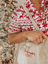 Load image into Gallery viewer, The Christmas Market Corduroy Tote Bag
