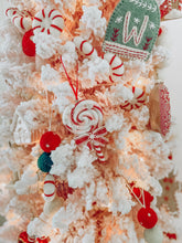 Load image into Gallery viewer, Vintage Lollipop Clay Ornament