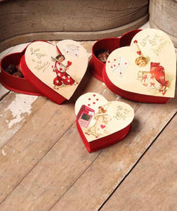 Valentines Nesting Treat Boxes - TP4140