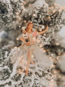 Nutcracker Ballerina Ornament