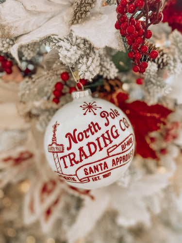RAZ - North Pole Trading Co Ornament