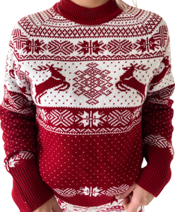 PRE ORDER - Womens Fair Isle Sweater
