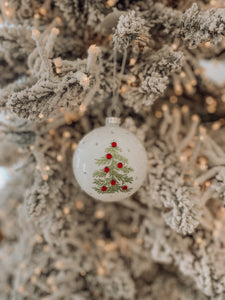 Katherine's Collection - Jolly Christmas Tree Ornament 80mm