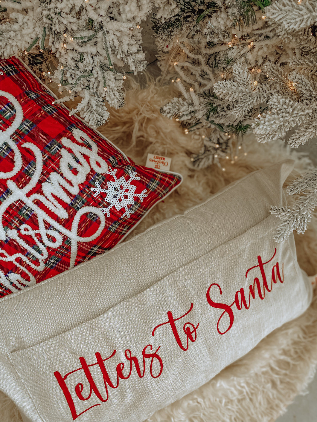 Letters To Santa Cushion Cover