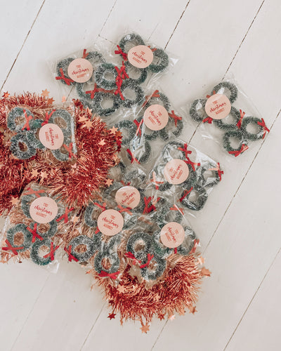 Mini Bottle Brush Wreath Pack
