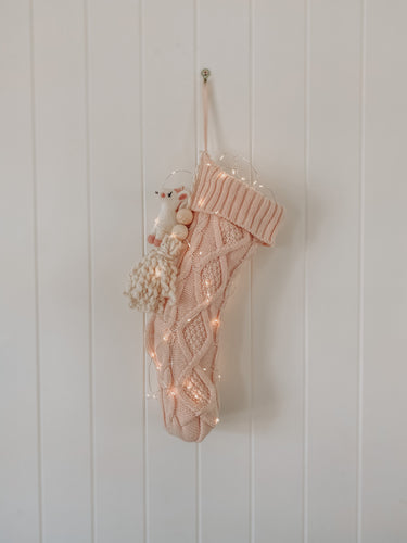 Cable Knit Stocking - Style #1