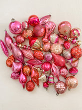 Load image into Gallery viewer, Vintage Glass - Pinks/Oranges Assorted