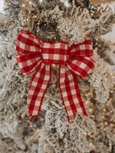 Load image into Gallery viewer, Gingham Bow