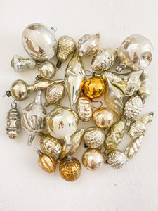 Vintage Glass - Golds/Yellows Assorted