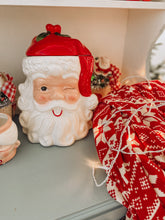 Load image into Gallery viewer, Vintage Santa Cookie Jar