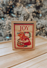 Load image into Gallery viewer, PRE ORDER RELEASE #5  - JOY Wooden Mini Block Puzzle