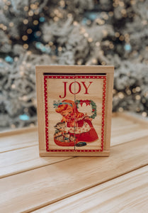 PRE ORDER RELEASE #5  - JOY Wooden Mini Block Puzzle