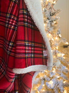 My Little Christmas Blanket - Tartan